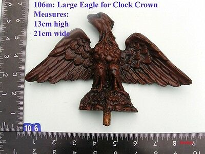 "106M ""Large Eagle"" clock case / furniture DIY"