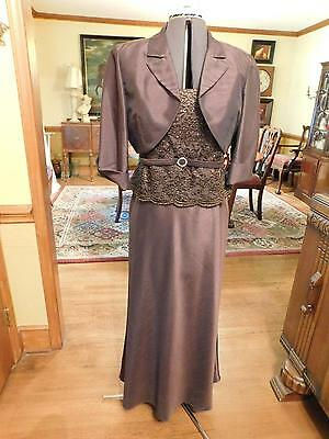 Beautiful 2-Piece Mother Of The Bride Or Groom-Special Occasion Formal Suit S12P