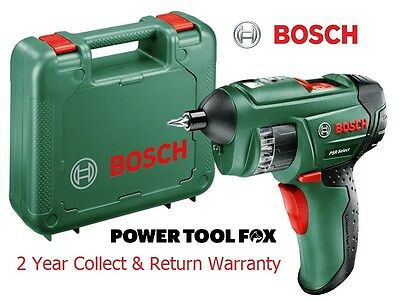new - Bosch PSR 3.6V Select Cordless Screw Driver 0603977070 3165140644112 #V