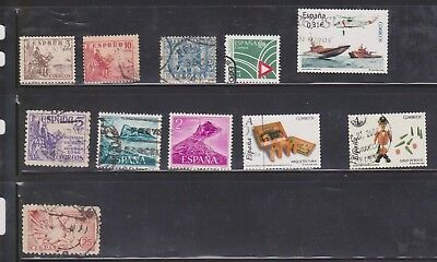 (U30-22) 1940-70s Spain mix of 33 stamps valued to 3PTA (E)