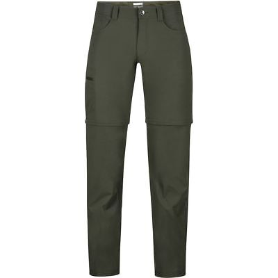 Marmot Transcend Convertible Pant Forest Night 34