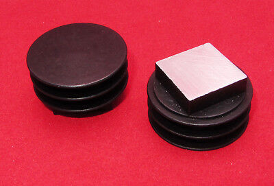 2 Pk - Thermalloy Aluminum Heatsink Small 29mm Disc Round 3 Fin BGA Flatpack