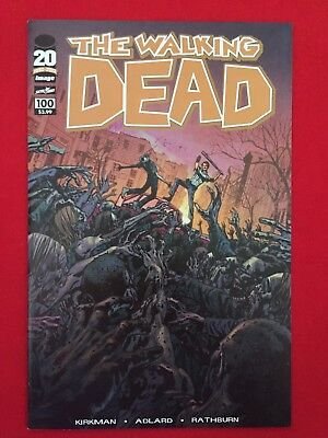 The Walking Dead #100 Cover F Variant Image Skybound AMC