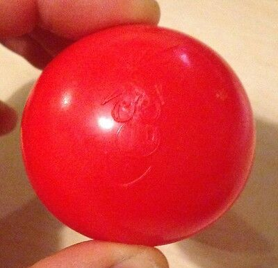 Rare 1991 Red Nose Day Comic Relief nose 'The Stonker, without hands'