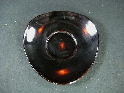 Vintage Japanese Lacquer Chataku Tea Cup Saucer Coaster