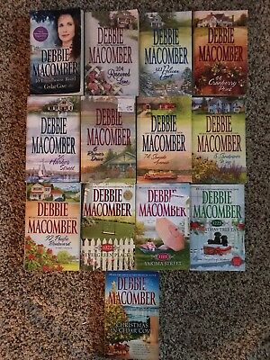 Lot Of 13 Debbie Macomber Novels, Complete Cedar Cove Series