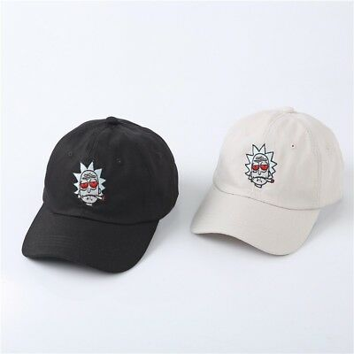Rick and Morty Dad Hat Cotton Baseball Cap adult swim BRAND NEW