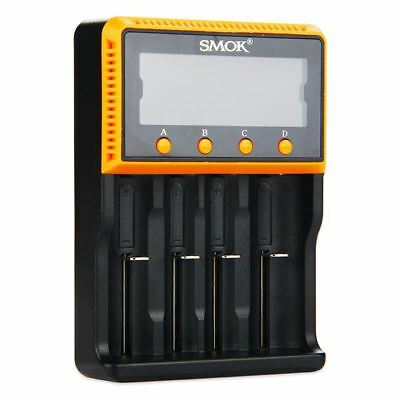 Authentic Code SMOK Battery Intelligent Charger 4 Bay for 10440 ~ 18650 From USA