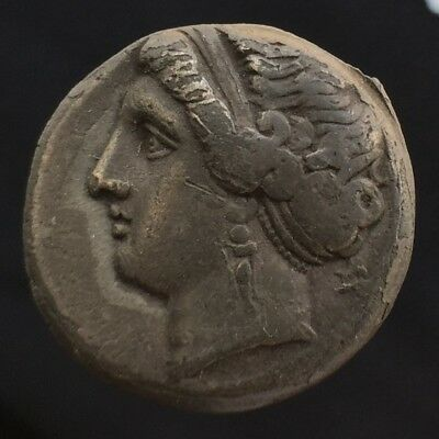 Neapolis Campania Silver Nomos Didrachm Stater 275-250 BCE Authentic Ancient NR