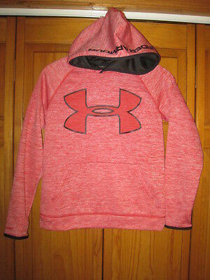 Under Armour Cold Gear Strom1 hoodie sweatshirt kids youth YMD M orange
