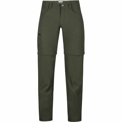 Marmot Transcend Convertible Pant Forest Night 36