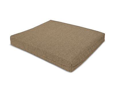 POLYWOOD XPWS0001-8318 Seat Cushion in Sesame