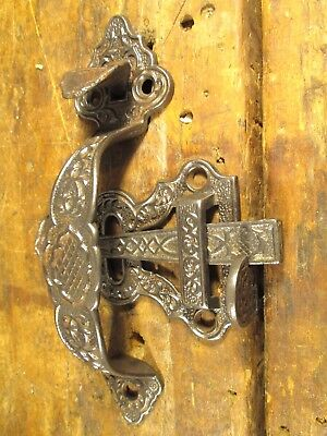 Antique  Victorian  Door  Latch  Thumb  Set