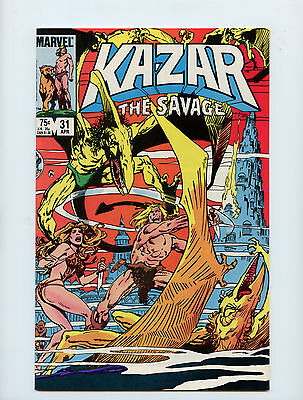Kazar #31 VF Paul Neary