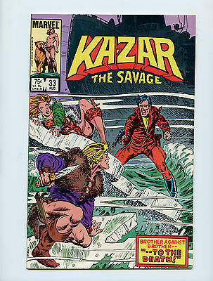 Kazar #33 VF Paul Neary