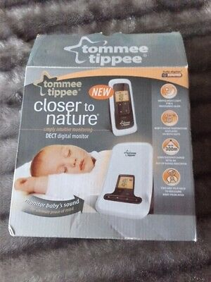 tommee tippee closer to nature digital baby monitor