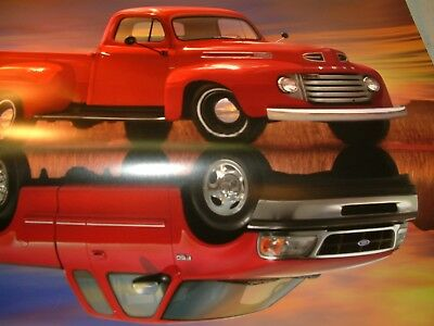 50 Years Of Ford Truck Poster 1948-1998