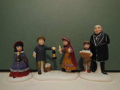NEW Dept 56 A Peaceful Glow On Christmas Eve Set of 3 Dickens 58300 NIB D56
