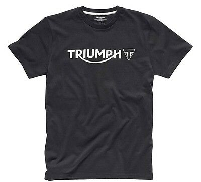 Triumph Motorcycles Men's Black Modern Logo T-Shirt MTSS15004