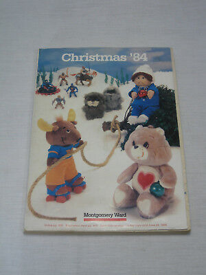 Montgomery Ward Vintage 1984 Wishbook Christmas Gifts Catalog