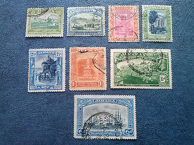 Jamaica  Sc# 75-95  8 Stamps Used