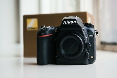 Nikon D750 24.3MP Digital SLR Camera Used Mint Condition- Black (Body Only)