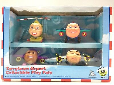 Jay Jay The Jet Plane Tarrytown Airport Sealed Box PBS Kids Big Jake Herky Tracy