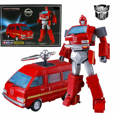 MP-27 Ironhide Nissan Cherry Vanette Transformers Masterpiece Figure KO Toy