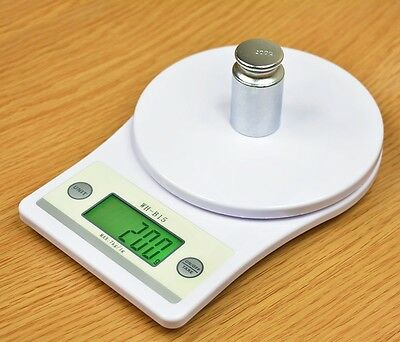 7000g/1g Digital Food Diet Postal Kitchen Digital Weight Electronic Scale #EBCA