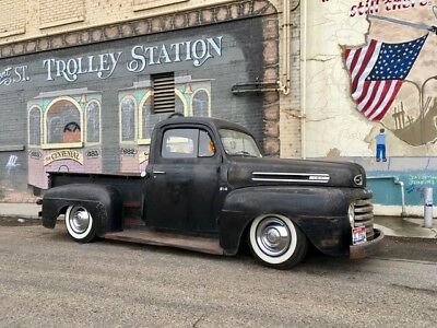 1948 Ford F-100 Deluxe 1948 Ford F1 Hot Rod Lowrider Rat rod Kustom
