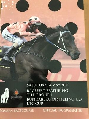 Black Caviar Race book BTCCup Doomben 2011