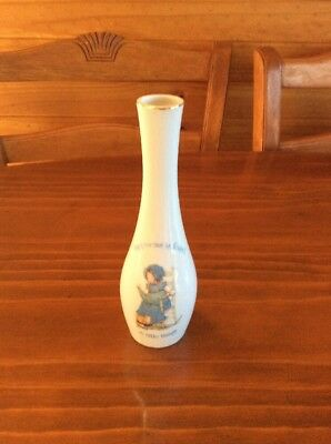 "Vintage Holly Hobbie Vase ""happiness Is Found In Little Things"""