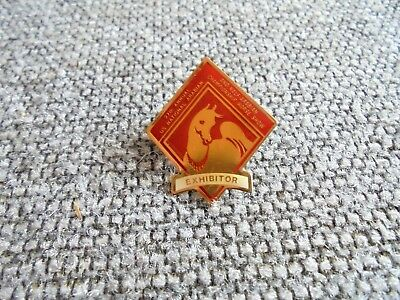 Vintage 27th US National Arabian & Half Arabian Horse Show Exhibitor Pin