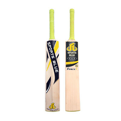 Sports Blue-FORCE 1(Grade 1 Cricket Bat) English Willow - 2.11 Lbs-fast shipping
