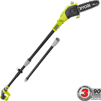 NEW 8 in Long Reach Handle Cordless Pole Saw Chainsaw for Tree Trimming Saw ONLY