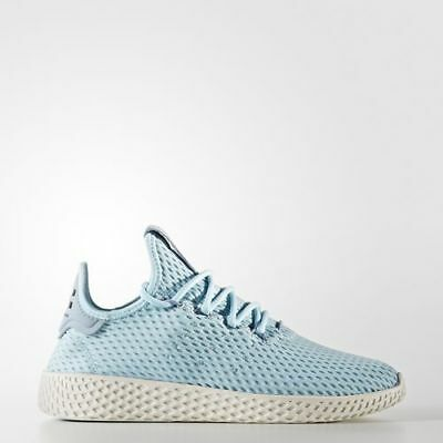 70ee0f63bf0c2 New Adidas Youth Pharrell Williams Pw Tennis Hu Shoes  Cp9802  Ice Blue