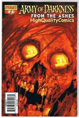 ARMY of DARKNESS FROM the ASHES #2, VF+, Arthur Suydam, 2007, more AOD in store
