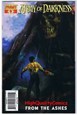 ARMY of DARKNESS FROM the ASHES #4, VF+, Arthur Suydam, 2007, more AOD in store