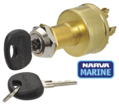 64012 Narva 4 Position Ignition Switch - Marine