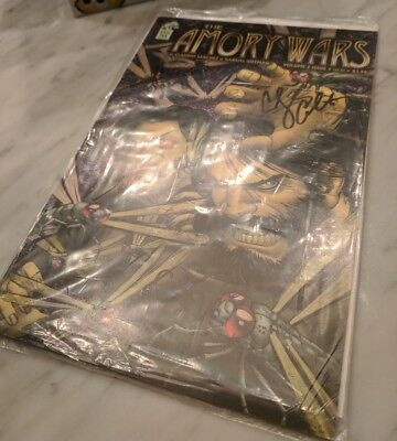 Signed COHEED AND CAMBRIA THE AMORY WARS Comic Book Volume 2 Issue 3 Full Band