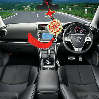 1 Red Chinese Knot Set Of Lucky Charm Coin Safe Protection Home Car  Decorations