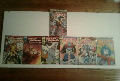 Idw Transformers Lot:100-Page Spectacular + (6) Idw Regeneration One Comics Lot