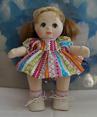 My Child Doll with New Dress-Pants-Shoes-Socks