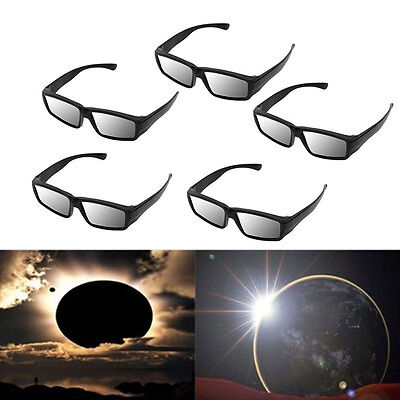 Plastic Solar Eclipse Glasses Viewing ISO and CE Certified Sun Glasses HOT Pro