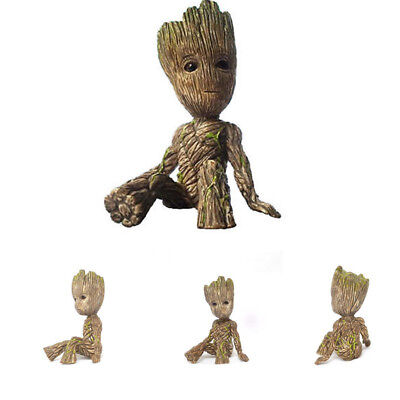 Movie Cute Act Guardians of the Galaxy Groot Sitting Baby PVC Action Figure Toy