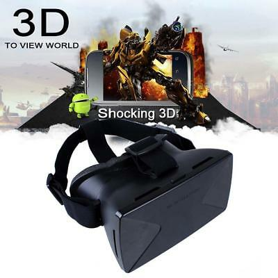 Hot Virtual Reality VR Headset 3D Plastic Video Glasses For iPhone 5s 6 Plus FT