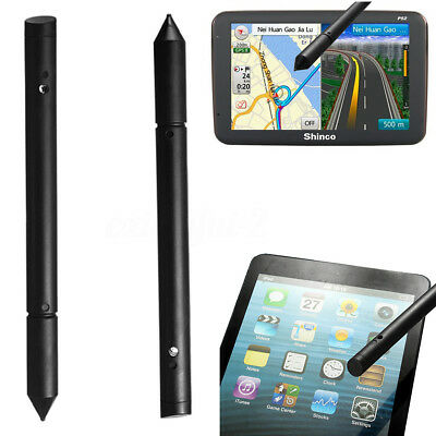 2PCS Universal 2in1 Touch Screen Pen Stylus For iPhone iPad Mobile Phone GPS UK