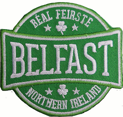 Northern Ireland Belfast (Béal Feirste) Embroidered Patch