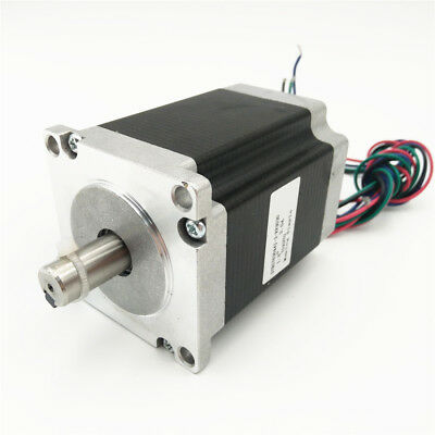 Nema23 1.8NM Stepper Motor 257oz.in 76mm 2Ph 1.8° 3A for Engraving machines New