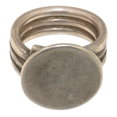 (1746)North India vintage silver ring